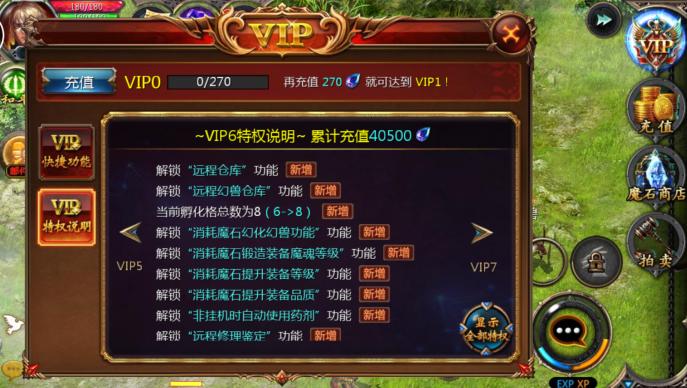 魔域口袋版VIP商城图6