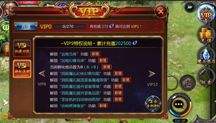 魔域口袋版VIP商城图9
