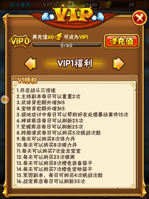 少年三国志VIP商城图2