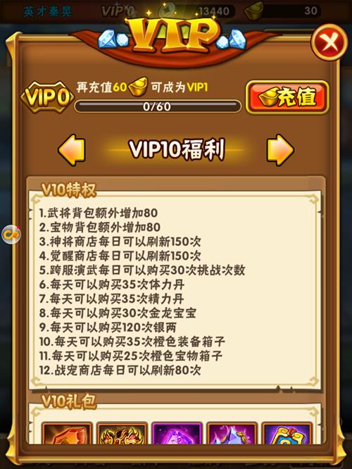 少年三国志VIP商城图11