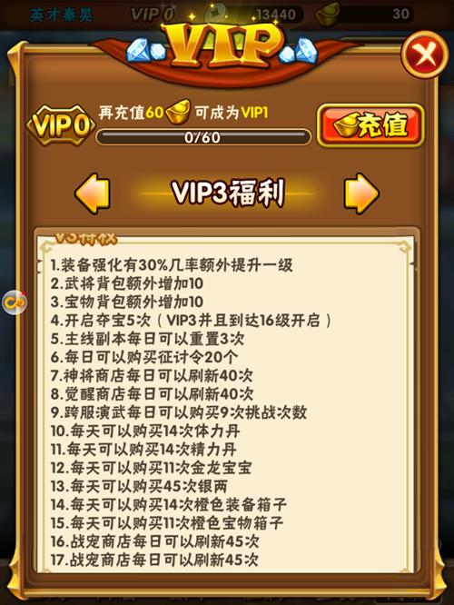 少年三国志VIP商城图4