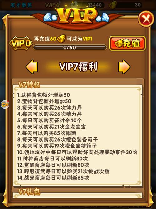 少年三国志VIP商城图8