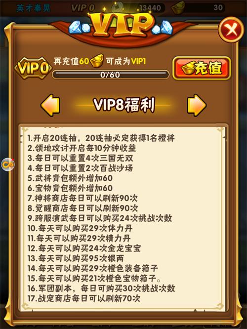 少年三国志VIP商城图9